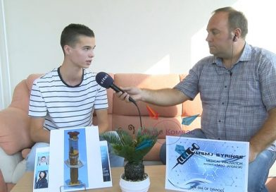 ВИДЕО – Прилепски средношколец патентираше специјален медицински шприц единствен од ваков тип во светот