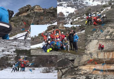 """ВИДЕО – СК """"Златоврв"""" подготвен да стане првата спасувачка служба во Прилеп – уште една спектакуларна вежба на Шаторов Камен"""