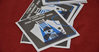 """ВИДЕО – Со премиерата """"Лажговци"""" започнува одбележувањето на 70 годишнината од прилепскиот театар"""