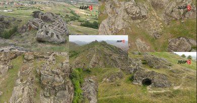 """ВИДЕО – """"Прилепскиот Мачу Пикчу"""" – некрополите и гробниците на Маркови Кули"""