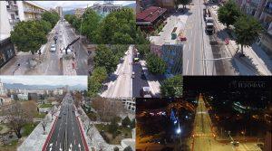 """ВИДЕО – Како се реконструираше булеварот """"Гоце Делчев"""" во Прилеп"""