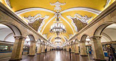 ВИДЕО – Сите 244 станици на московското метро во три минути!