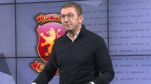 Лидерот на ВМРО-ДПМНЕ, Христијан Мицкоски, позитивен на Ковид-19