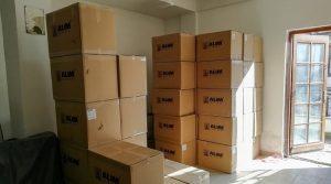 """Нова донација од 80.000 заштитни маски од турската компанија """"Алим"""" за Крушево"""