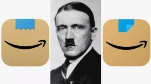 Amazon мора да го смени логото бидејќи потсетувало на Хитлер