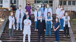 Во здравствените установи за време на пандемијата се вработени 446 работници