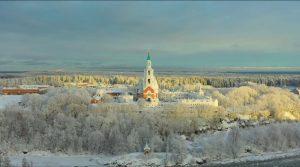 ВИДЕО – Зима во Валаам – еден од најубавите руски манастири