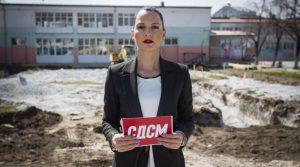 """ВИДЕО – Макалоска: ООУ """"Кире Гаврилоски – Јане"""" во Прилеп добива нова спортска сала, градиме и во услови на пандемија"""