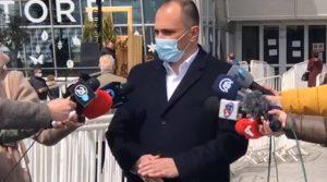 """Филипче: Околу 25 илјади граѓани се вакцинирани досега во салата """"Борис Трајковски"""""""