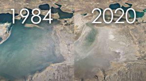 Како се менува Земјата од 1984 до денес, патување низ времето, што и направивме на планетата?