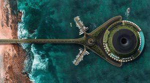 Во Катар се гради нов пловечки хотел