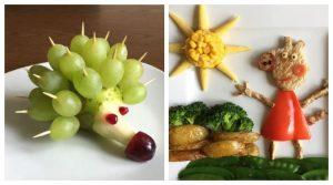 Самохран татко на брилијантен начин ја натерал својата ќеркичка да јаде здрава храна-прекрасни креации од храна