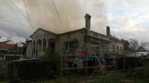 "ВИДЕО – Пожар пеплоса куќа на улица ""Ристо Крле"" во Прилеп"