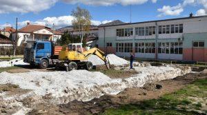 """Започна изградбата на спортска сала во ООУ """"Кире Гаврилоски-Јане"""" во Прилеп"""