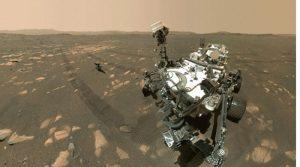 Роверот Perseverance на Марс го има најспектакуларното селфи