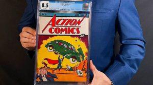 Првиот број на Супермен продаден за рекордни 3,25 милиони долари