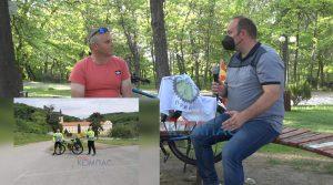 Прилепчаните Димитроски и Стојкоски за 5 дена со велосипед поминаа 700 км. Прилеп-манастир Ново Хопово-Србија