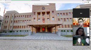 Mладинци во виртуелна посета на Собранието на Македонија
