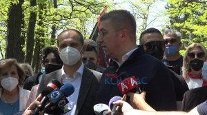 ВИДЕО-Мицкоски: Бараме предвремени парламентарни избори, никогаш не било полошо во последниве 3 децении
