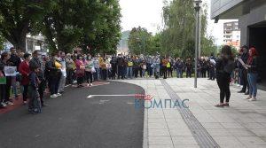 ВИДЕО – Протест во Прилеп против најавените реформи во образованието