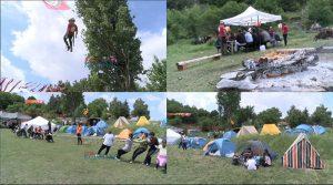 ВИДЕО – Ориентација, зип лајн, игри, планинарење – над 150 млади дел од Едукативниот планински камп во Прилеп