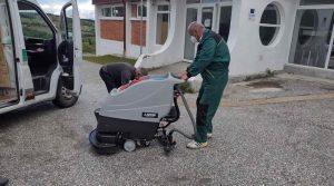 Крушево добива теретана, набавена и машина за подно чистење на салата