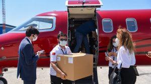 """Пристигнаа 30 илјади вакцини """"Синовак"""" како донација од Турција"""