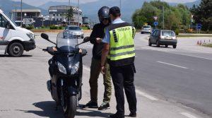 116 санкционирани возачи на мотоцикли, 75 не користеле заштитна кацига