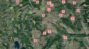 Утре седница на Влада за прогласување на кризна состојба во цела Македонија поради пожарите