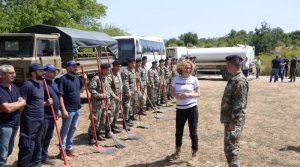 Шекеринска: Армијата е таму каде што е најтешко, повеќе од 1000 војници се подготвени