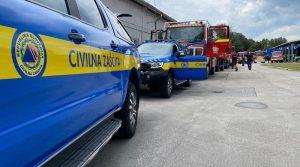 Словенија испраќа 16 противпoжарни возила и 46 пожарникари