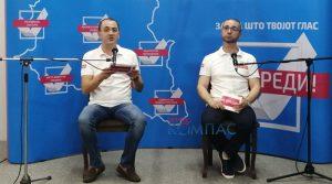 """ВИДЕО – Граѓанската иницијатива """"ЧЕ ВРЕДИ"""": ВМРО и СДСМ ни покажаа само тоа како се станува роб во сопствената држава"""