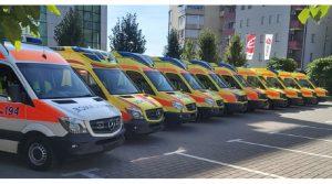 """Компанијата """"Еколог"""" донираше 10 амбулантни возила за здравствените домови низ Македонија"""