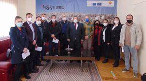 Градоначалникот и новите советници во Крушево ги потпишаа решенијата, се очекува успешна работа